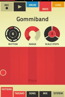 Lek med samplingar i Figure för iPhone