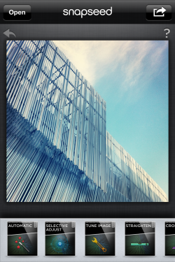 Bildredigering med full kontroll med Snapseed