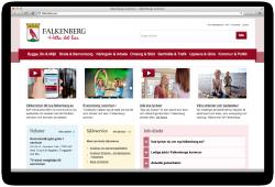Nya falkenberg.se är en bra webbplats!