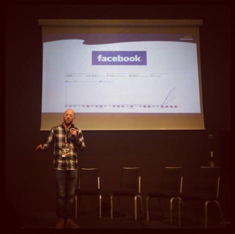 Petter Knutsson på internetdagarna - Foto: @jonas_halmstad